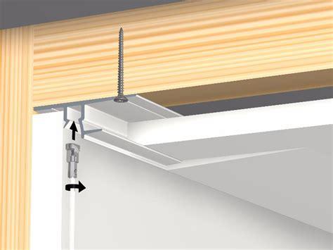Rail Pour Faux Plafond by Cimaise Shadowline Rail 250 Cm Faux Plafond Placopl 226 Tre