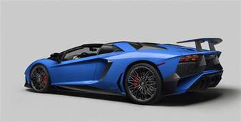 lamborghini aventador sv roadster unveiled at the quail