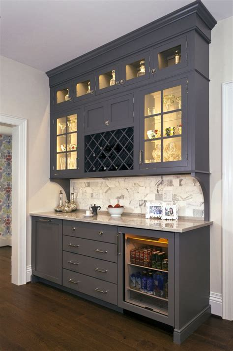 bar cabinet with fridge concealed behind this elegant storage unit is everything