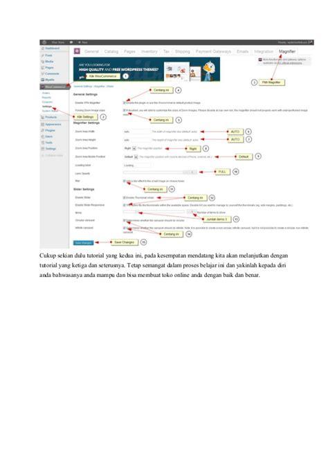 Cara Membuat Toko Online Menggunakan Woocommerce | cara membuat toko online menggunakan woo commerce