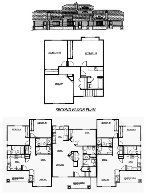 triplex plans house plans and home designs free 187 archive 187 triplex home plans