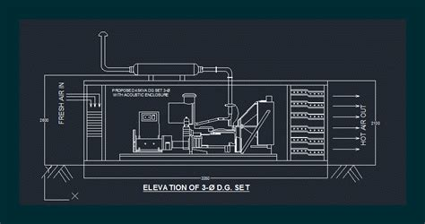pattern generator autocad diesel generator dwg block for autocad designs cad