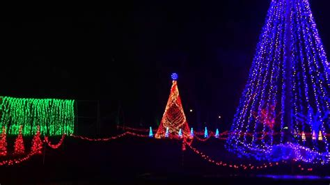 christmas lights with music drive through musical