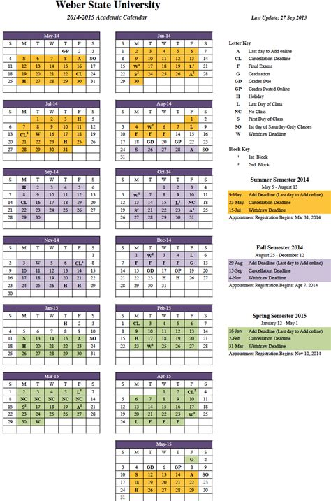 2014 2015 calendar template image gallery 2014 2015 academic calendar
