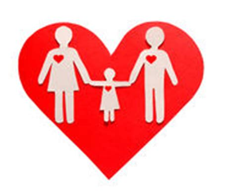 big heart love family pictures family love in a big heart stock vector illustration of