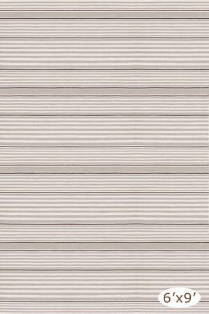 Albert And Dash Outdoor Rugs Dash And Albert Rugs Quot Rugby Stripe Platinum Ivory