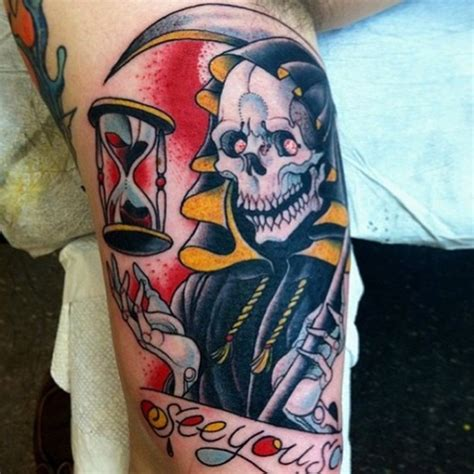 new school reaper tattoo 29 cool grim reaper tattoo designs