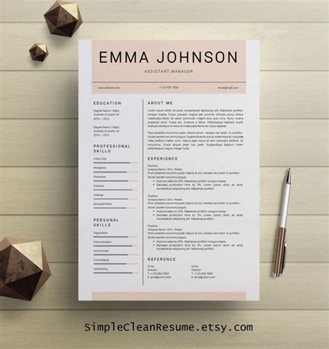 Resume Template 3 Page Moonlight by 51 Mejores Im 225 Genes De Curriculum En