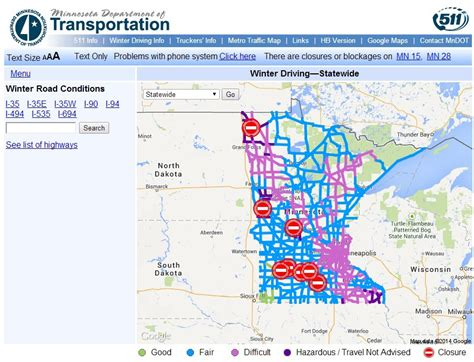 mndot traffic map january 2014 minnesota prairie roots