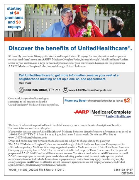 medicare supplement 0 premium southern california 0 premium aarp unitedhealthcare