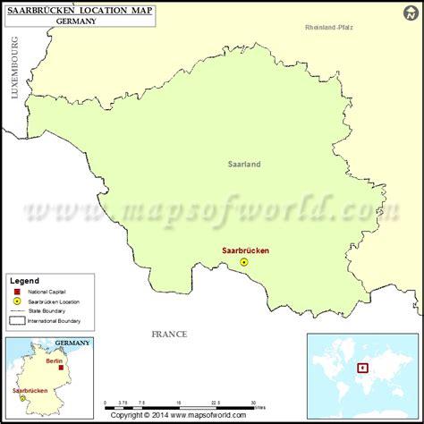 map of saarbrucken germany where is saarbrucken location of saarbrucken in germany map