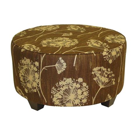 Home Decorators Ottoman Home Decorators Collection Chocolate Accent Ottoman 538qachoc The Home Depot