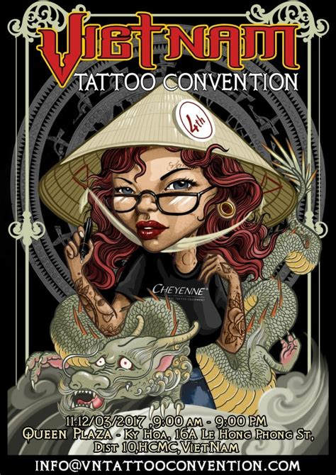 tattoo convention thailand 2017 vietnam tattoo convention march 2017