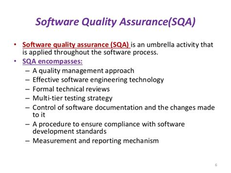 software design quality criteria software quality assurance