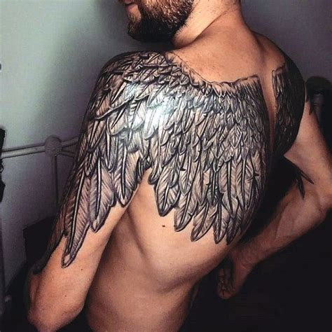 back wing tattoos for men top 100 best wing tattoos for designs that elevate