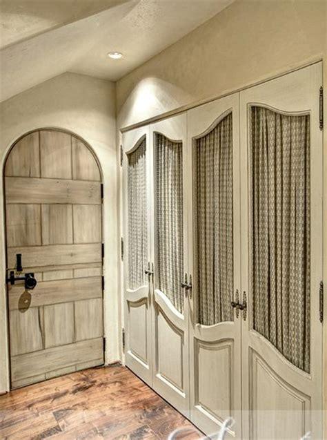 Home Dzine Bedrooms Dress Up Closet Doors With Fabric Cloth Closet Doors