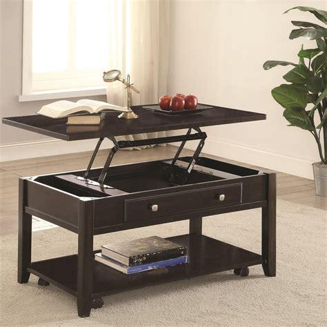 coaster furniture lift top coffee table coaster 72103 rectangular lift top coffee table value