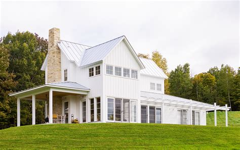modern farmhouse exterior decosee com contemporary farmhouse northern vermont truexcullins