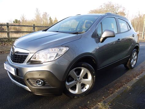vauxhall grey used satin steel grey vauxhall mokka for sale surrey