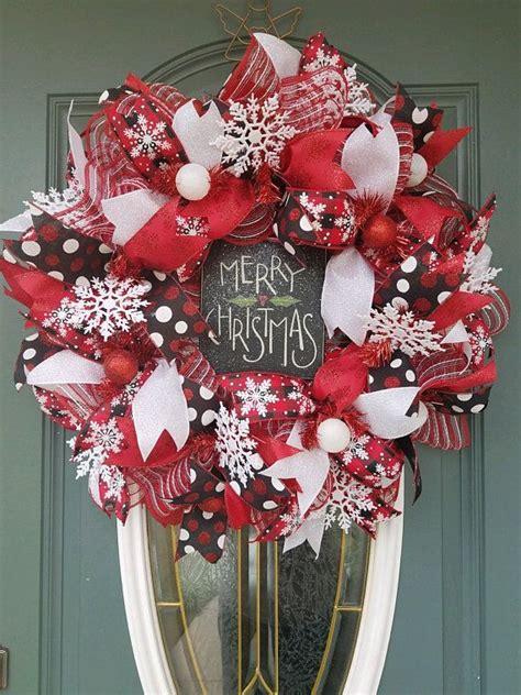 front door wreath christmas wreath holiday wreath merry christmas wreath buffalo plaid