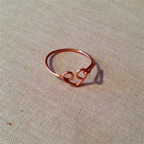 yang s jewelry simple wire ring free tutorial