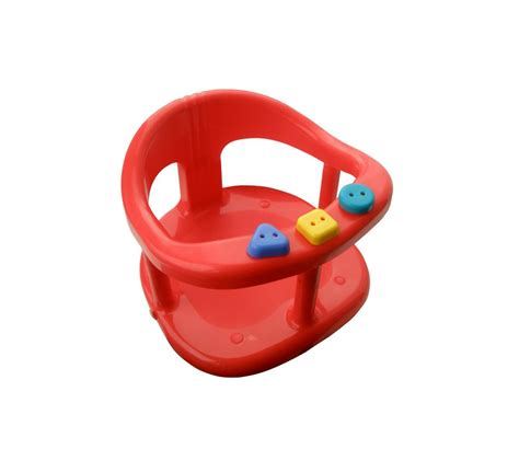 baby bathtub seat ring baby bath safety seat tub ring red anti slip chair bath
