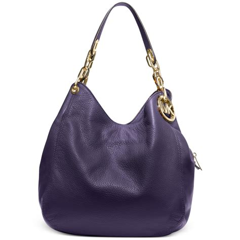 Coach City Tote Zip Tosca michael kors fulton large shoulder tote in purple lyst