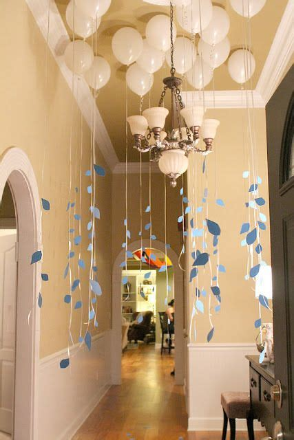 bridal shower entree ideas rent a helium tank and fill up white balloon to create this look for your baby shower baby
