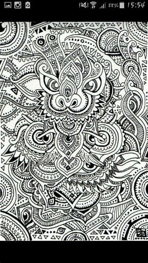 Muster Zeichnen Cooles Drachen Muster Geil