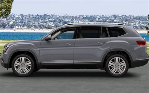 volkswagen atlas interior  exterior color options