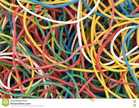 colored rubber bands colored rubber bands royalty free stock photos image