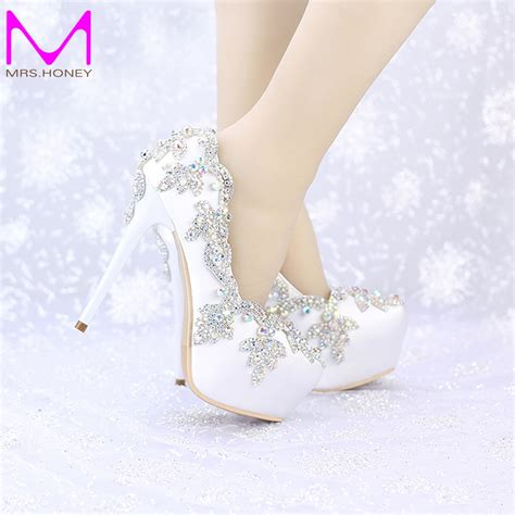 high heels wedding 2016 satin wedding high heels ab color toe