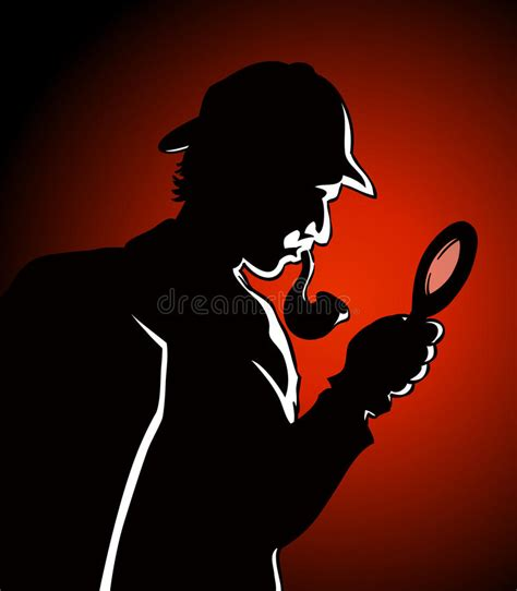 Detective Search Detective Search Stock Vector Image Of Drawing 28689377