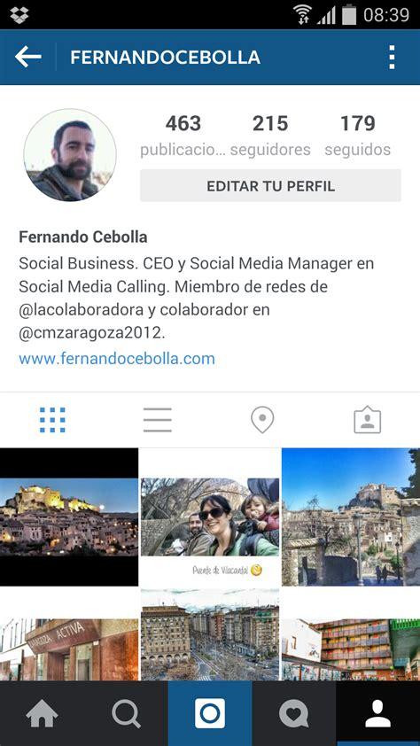 Imagenes Para Perfil Instagram | instagram archivos fernando cebolla marketing online