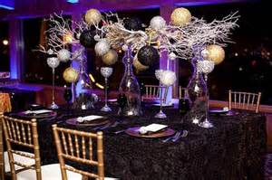 new year s centerpieces new year s wedding centerpieces