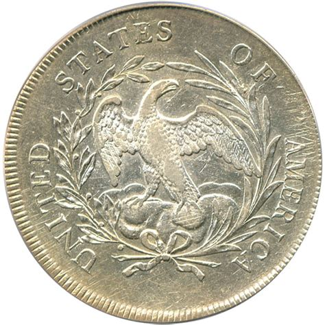 1795 draped bust silver dollar value 1795 bust silver dollar 1 pcgs au50 centered draped bust