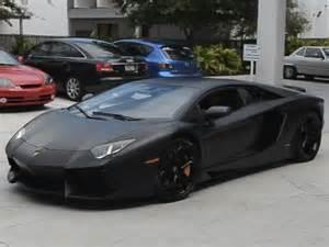 lamborghini aventador in matte black auto idolatry