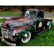 1952 Chevy Truck 3100 Air Ride Bagged Not C 10 Patina Rat Rod Hot