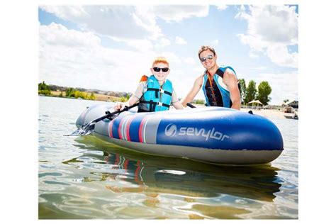 sevylor colossus 3 person inflatable boat sevylor colossus 2 person inflatable boat raft w oars
