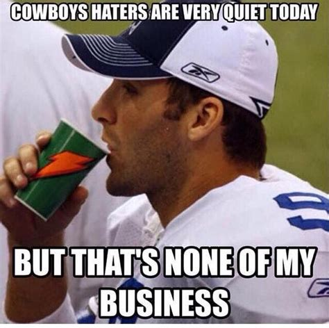 Cowboys Haters Meme - 78 best dallas cowboys images on pinterest