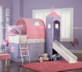 Princess Bunk Bed With Slide Powell Princess Castle Size Tent Bunk Bed With Slide 374 069