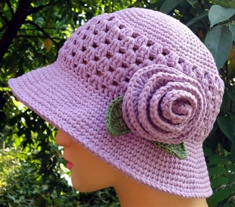 pattern crochet free hat crochet cloche hats the best free collection