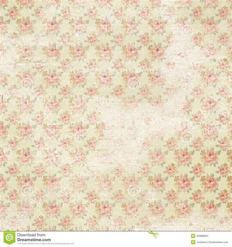 Wallpaper Shabby Vintage vintage floral shabby chic wallaper stock