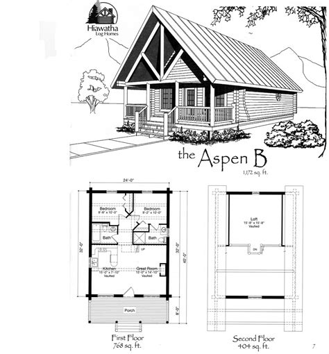 cabin floor plans small paper september 2010