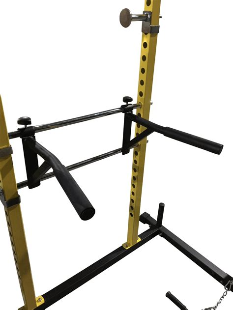residential power rack dip attachment bells of steel
