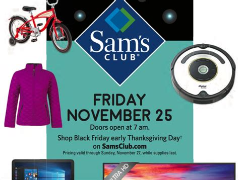 2016 Black Friday Gift Card Deals - sam s club black friday 2016 deals some live