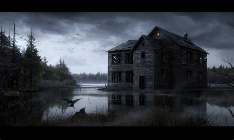 wallpaper for houses wall haunted computer wallpapers desktop backgrounds