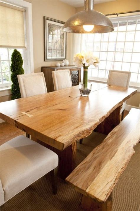 Natural Wood Dining Room Tables by Best 25 Wood Tables Ideas On Pinterest Diy Wood Table