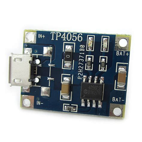 Tp4056 1a 5v Cas Battery Charging Charger Module Micro Usb Proteksi tp4056 1a 3 7v lipo battery charging board charger module diy micro usb interface geekbuying