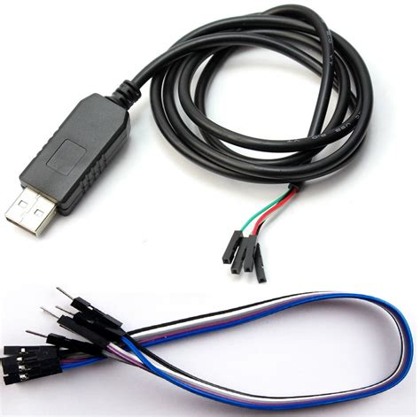 Usb To Ttl pl2303 usb to serial ttl 232 3 3v cable with and